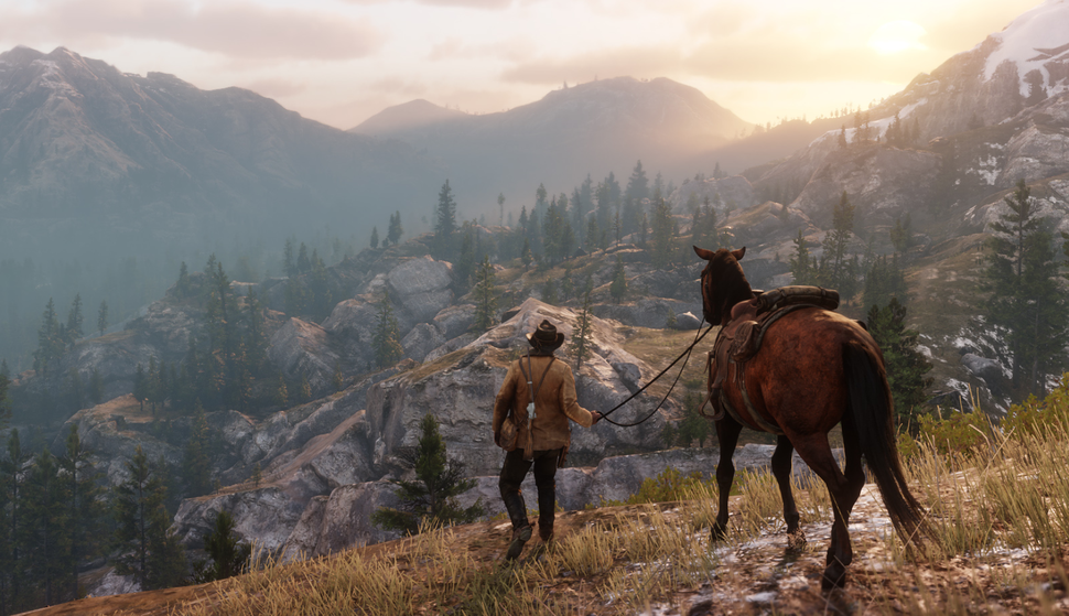 Red Dead Redemption 2 really wants you to love your horse